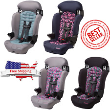 Baby Convertible Girls Car Seat 2-in-1 Booster Toddler Highback Safety Chair