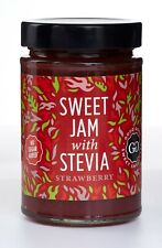 Good Good Sweet Jam With Stevia Strawberry 330g Sugar Free Vegan Low Calories