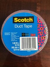 3M Scotch Duct Tape - Fancy Designs Red Blue Stars 4th Of July Crafting NEW