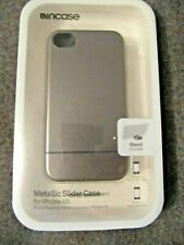 Incase CL59689 Metallic Slider Case for iPhone 4, 4S + Stand