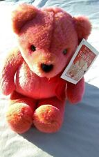 "Avon Plush Talking 12"" Teddy Bear 100th Aniversary Nwt 2002"