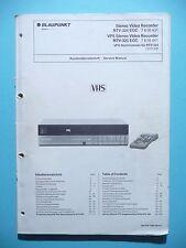 MANUAL DE Manual de servicio para Blaupunkt rtv-324, rtv-325, original