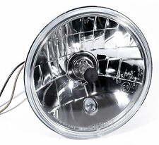 "H4 5-3/4"" Vidrio transparente Juego faros para US Reflector GM CHEVY Ford Dodge"