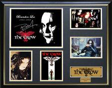 The Crow Brandon Lee Signed Framed Memorabilia
