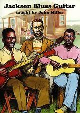 John Miller Jackson Blues Guitar DVD Learn to Play Mississippi Music DVD