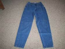 SECRETS SUN PRINT Classic Deep Front Pockets Cotton Jeans 27X30 Womens 10  #1962