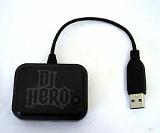 NEW PS3 PS2 DJ HERO 1 2 Turntable RECEIVER Dongle ONLY wireless usb PRT-0001.809