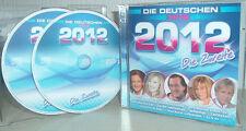 ANDREAS MARTIN, UWE BUSSE, TINA YORK uva DIE DEUTSCHEN HITS 2012 -2  (2 CDs)