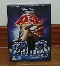 THE RETURN OF THE BEST 3-THE MIGHTY DUCKS-DVD-DISNEY NEW SEALED