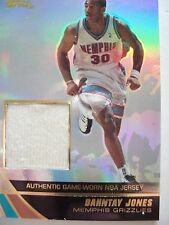 2004 TOPPS BASKETBALL GAME JERSEY DANNTAY JONES  GRIZZLIES  JE-DJ    BX54