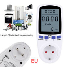 LCD Strommessgerät Stromverbrauchzähler Energiekosten Stromkosten Stromzähler