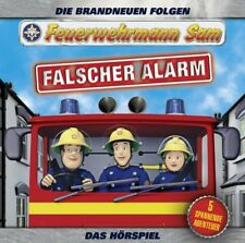 FEUERWEHRMANN SAM - FALSCHER ALARM (DAS HÖRSPIEL) TEIL 4 CD NEU