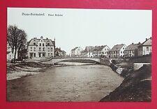 AK PLAUE-BERNSDORF bei Flöha um 1910 Neue Brücke   ( 27865