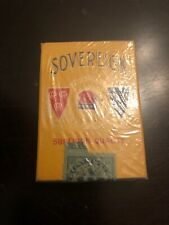 Vintage Sovereign Cigarette Package Pack Tobacco Sign Empty Display Only