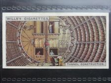 No.49 TUNNEL CONSTRUCTION SHEILD, UK Engineering Wonders W.D.& H.O. Wills 1927