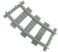Lego ® ferrocarriles 1x gebogne raíles (3677,7897,7898, 7938,7939,60051,60052)