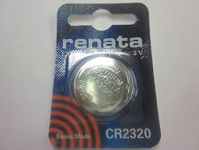 2PCS Renata CR2320 Watch Batteries, 3V Lithium, 2320 3 Volts