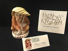 *NIB* Harmony Kingdom-Pongos Palm