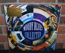 THE MOODY BLUES - Collected, Limited Import 180G 2LP COLORED VINYL Foil #'d NEW!