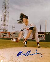 Marv Throneberry signed Kansas City Athletics 8x10 Photo (deceased)