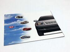 2001 Kia Optima Sportage Sephia Spectra Rio Full Line Brochure