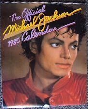MICHAEL JACKSON Original 12 Photo BRITISH Calendar POSTER Book THRILLER England