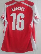 Arsenal 2015-2016 Ramsey 15 Home Football Shirt Size XL /40657