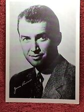 James Stewart Publicity Photo - Hollywood 1940's Movie Star Actor Signed reprint