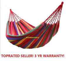 O21 Hammock Portable Cotton Rope Outdoor Swing Fabric Camping Canvas Bed Bag
