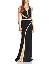 BNWT Womens Forever Unique Sephora Mesh Maxi Dress Embellished Black 12 RRP £329