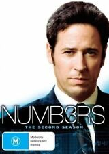 NUMBERS Complete Second Season (2) TV Series Boxset 6DVD NEW