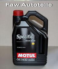 Motul Specific 504 00 507 00 5w 30 ACEITE DE MOTOR VW 5 litros + Cinta llaves