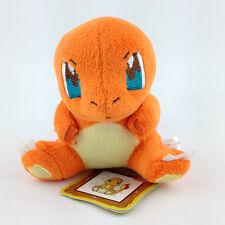 "Charmander Pokemon Plush Toy Fire Lizard Type Kanto Starter Stuffed Animal 5"""