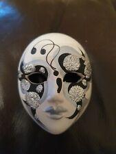 Decorative Ceramic Mask Festival Carnival Mask Decor - Signed Italy
