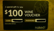 NAKED WINES $100 WINE VOUCHER