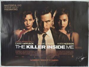 THE KILLER INSIDE ME (2010) Original Cinema Quad Movie Poster - Casey Affleck