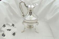 RARO GIORGIO III HM Sterling Silver Spirit caffè o pentola di acqua calda 1804