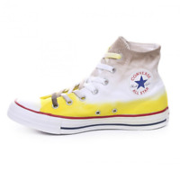 Converse All Star scarpe uomo Chuck Taylor High canvas limited brown blonde dip