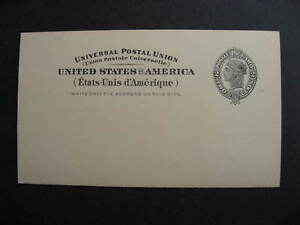 USA UX16 stationery mint, not pre printed, check it out!