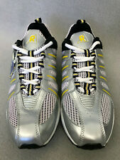Riddell Mens 37060 Sprint Running Shoes Silver/Black/Yellow