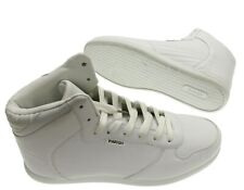 NEW - PARISH NATION Men's LACE-UP White HIGH-TOP SNEAKER - 9 / 42