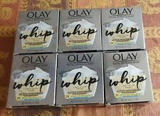 Olay Total Effect Whip Active Moisturizer SPF 25 Fragrance Free 6 boxs 1.7oz NEW