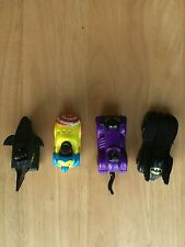 D C Comics Complete set of 4 batman McDonald toys 1991