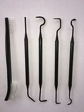 5 Piece Polymer Gun Cleaning Picks & Brush Set With Free Shipping!