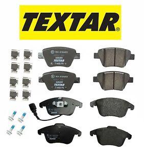 For Volkswagen Passat 2012-2015 Set of Front & Rear Brake Pads Textar