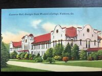 Vintage Postcard>1959>Converse Hall>Georgia State Women's College>Valdosta, GA