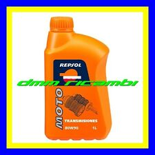 1 Litro Olio Primaria Cambio REPSOL MOTO 80W/90 GL4 Lubrificante HARLEY DAVIDSON