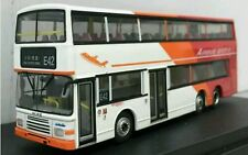 Free Ship!!! Hong Kong KMB Long Win Volvo Olympian Tri-Color 11m Bus - Rt.E42