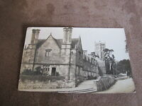 1920s fr real photo postcard - street scene Chipping Campden  -Cotswolds