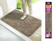 NEW Super Absorbent Doormat Magic Step Door Mat NON SLIP Indoor Caravan BROWN UK
